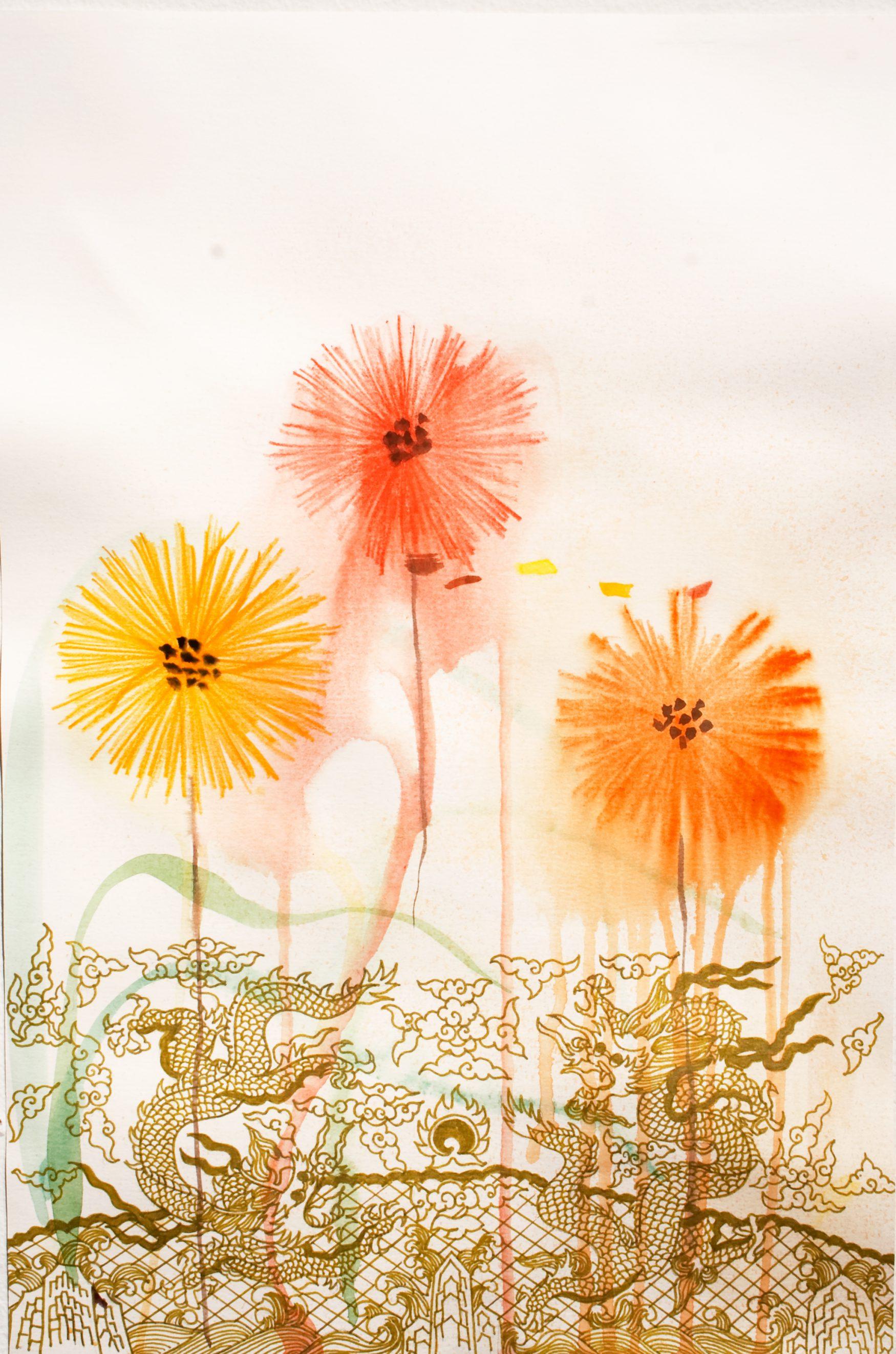 Kira Nam Greene Flower Dragons
