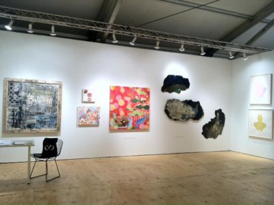 Kira Nam Greene Accola Griefen at SCOPE Miami 2012