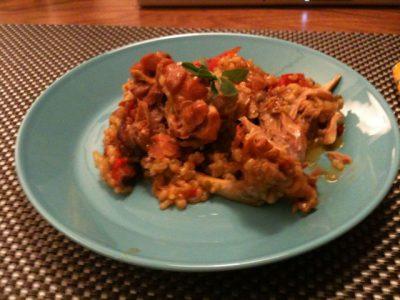 Kira Nam Greene Arroz con pollo with a twist