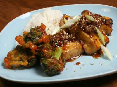 Kira Nam Greene Braised Tofu in Caramel Sauce