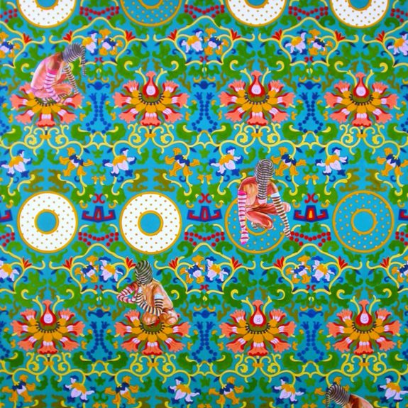 Kira Nam Greene Chinese Floral Pattern