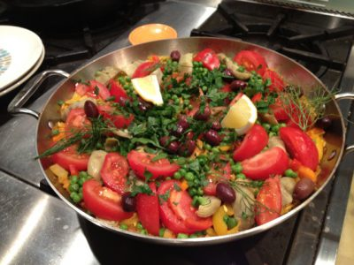 Kira Nam Greene Multi-vegetable Paella