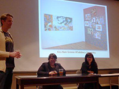 Kira Nam Greene Palette Exhibition and Lecture at Salisbury University
