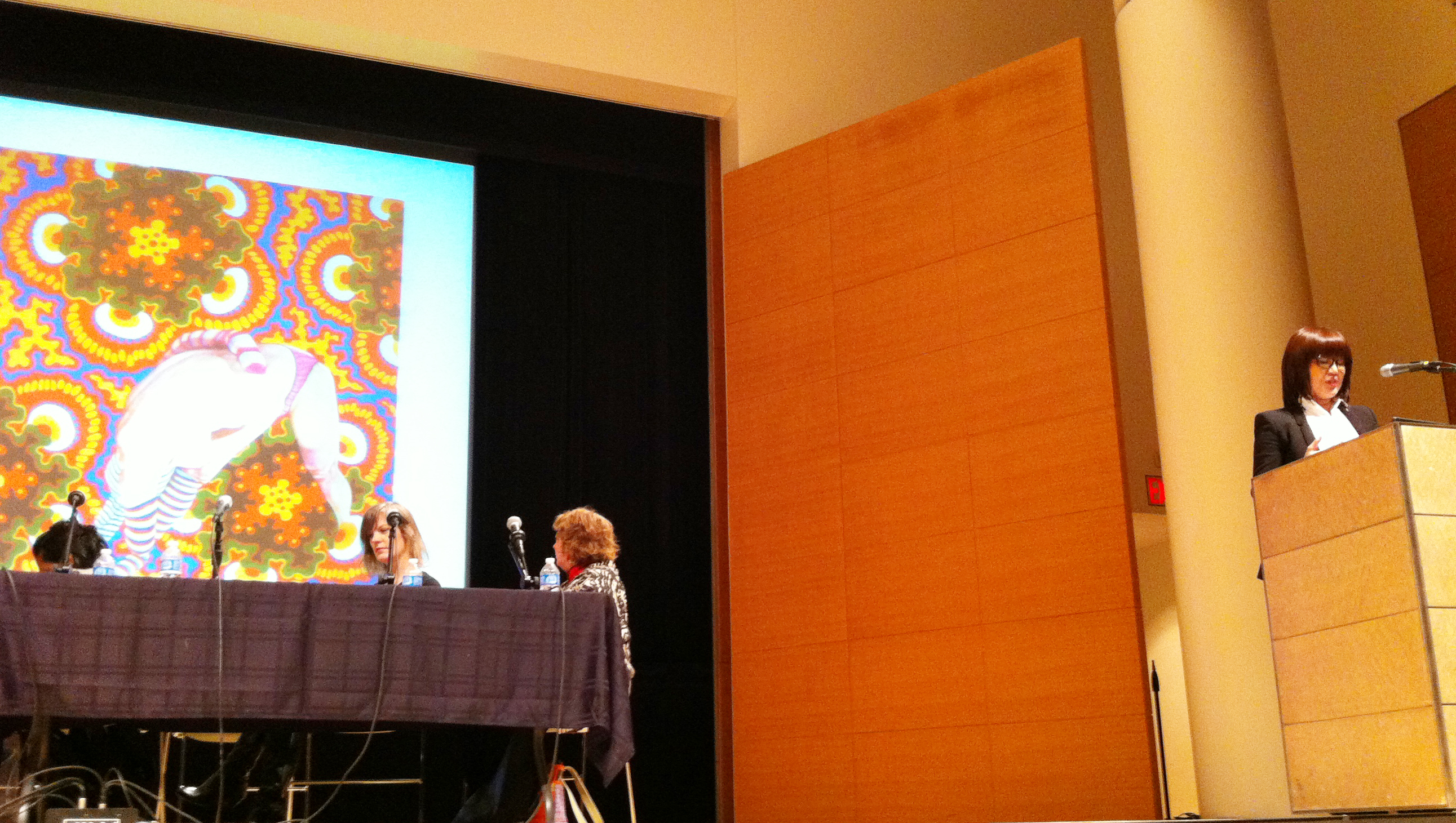 Presentation at the Brooklyn Museum of Art