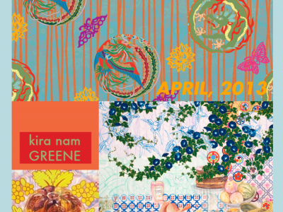 Kira Nam Greene Solo Exhibition in New York at Accola Griefen Gallery
