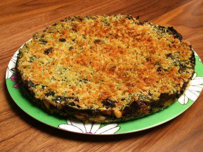 Kira Nam Greene Tegliata di Biete – Swiss Chard Torte with Raisins and Pine Nuts